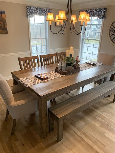 Rustic-Farm-Table-Dining-Set