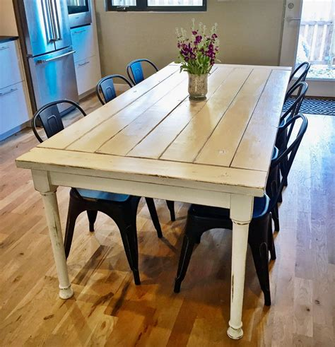 Rustic-Farmhouse-Dining-Table-White