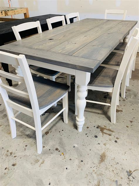 Rustic-Farmhouse-Tables-And-Chairs