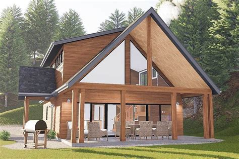 Rustic-House-Plans-For-Narrow-Lots