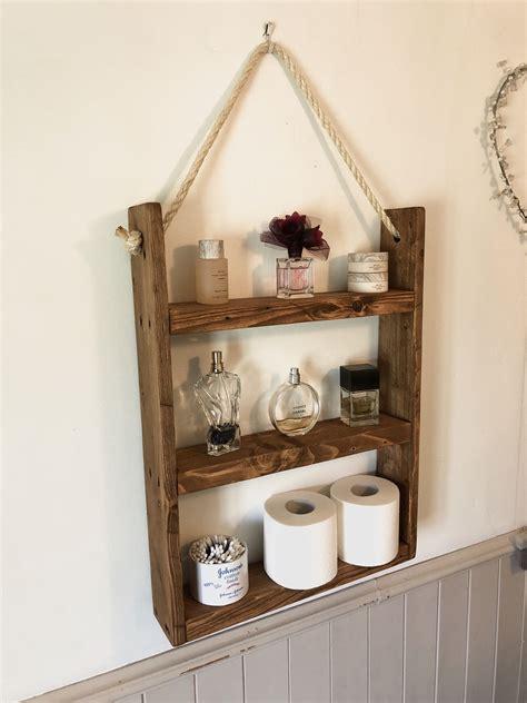 Rustic-Ladder-And-Rope-Shelf-Diy