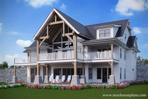 Rustic-Lakeside-House-Plans