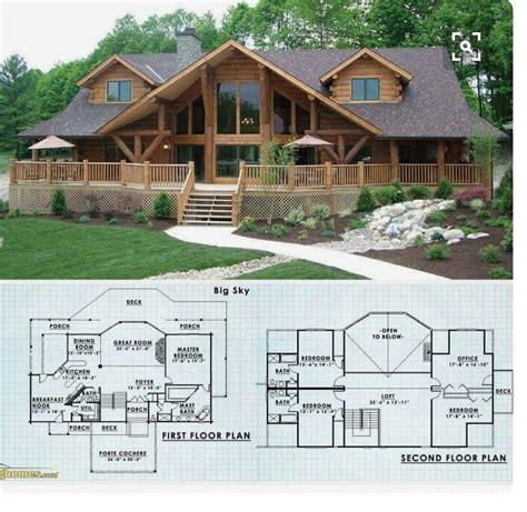 Rustic-Log-Cabin-Floor-Plans