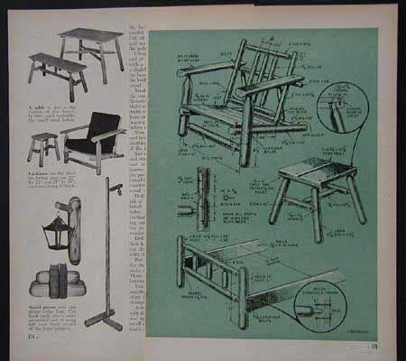 Rustic-Log-Furniture-Plans-Free