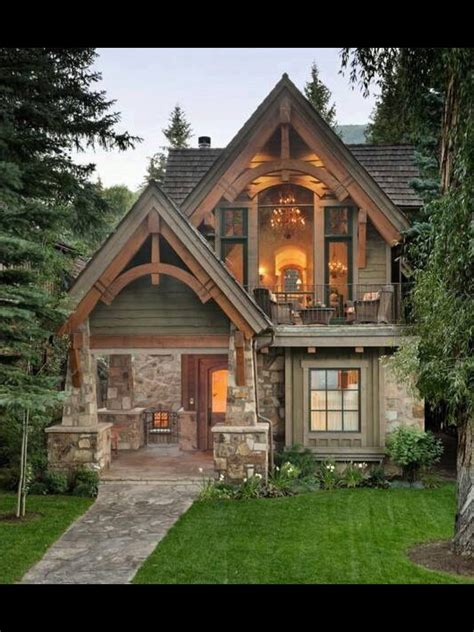 Rustic-Mountain-House-Plans-With-Walkout-Basement