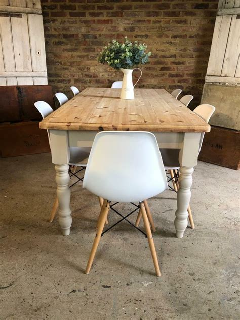 Rustic-Pine-Farmhouse-Dining-Table