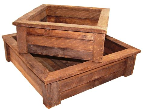 Rustic-Planter-Box-Plans