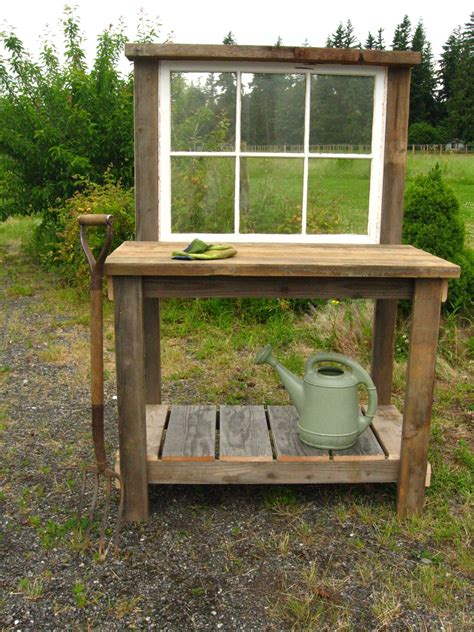Rustic-Potting-Bench-Plans