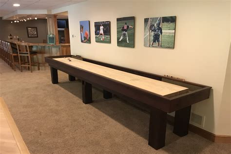 Rustic-Shuffleboard-Table-Plans