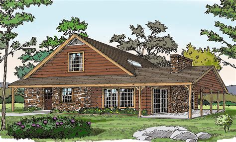 Rustic-Vacation-House-Plans