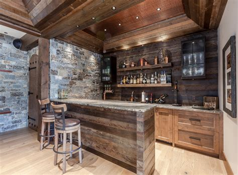 Rustic-Wood-Bar-Plans