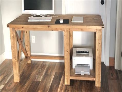 Rustic-Wood-Desk-Plans