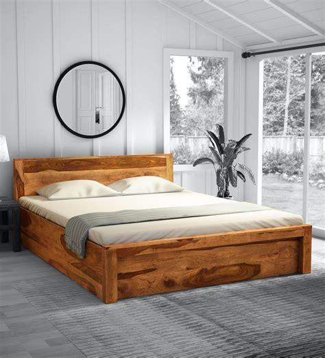Rustic-Wood-Queen-Bed