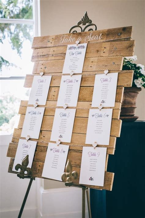 Rustic-Wooden-Wedding-Table-Plan