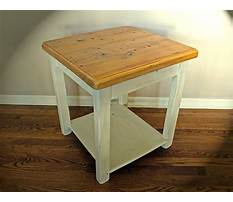 Best Rustic and country end tables