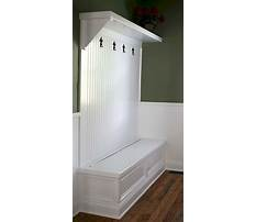 Best Rustic mudroom bench plans