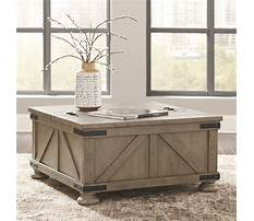 Best Rustic pine coffee table with storage
