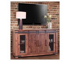 Best Rustic tv stand plans