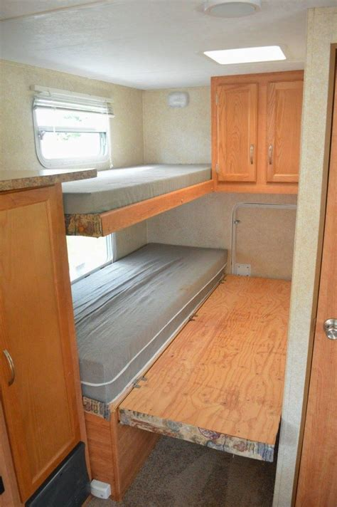 Rv Double Bunk Room Plans