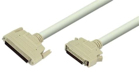SCSI Cable DM68 Male to DM50 Male - 4 Foot Molded