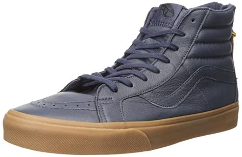 SK8 Hi Reissue Zip Hiking Navy/Gum Mens Classic Skate Shoes Size 11.5