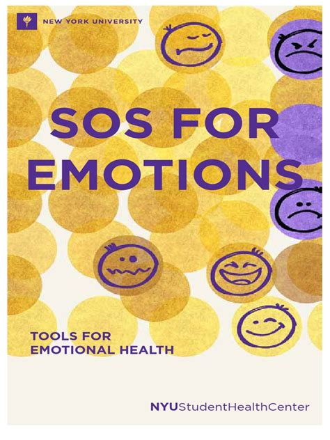 [pdf] Sos For Emotions - Nyu.