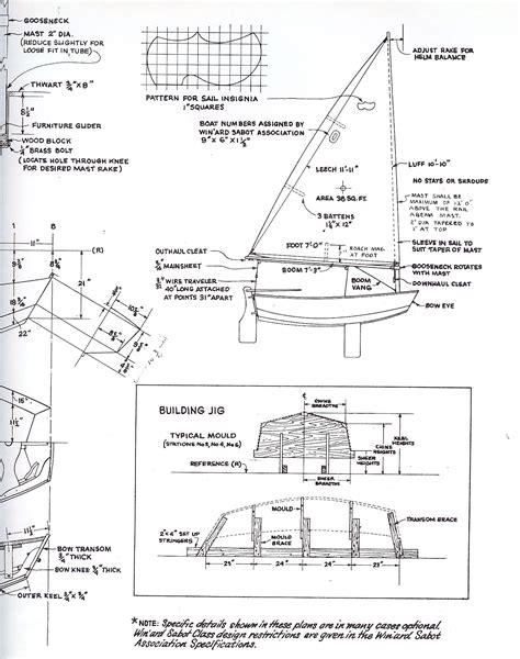 Sabot-Sailboat-Plans