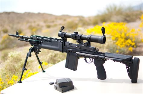 Sage Ebr Stock M1a And Truglo Tru Tec Red Dot 20mm Review