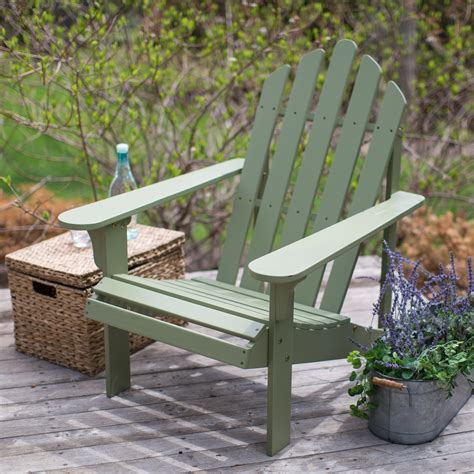 Sage-Green-Adirondack-Chairs