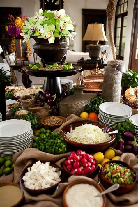 Salad Table Plans For A Wedding Reception