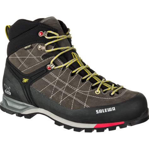Salewa Men's Mountain Trainer Mid GTX Boots & Cooling Towel Bundle