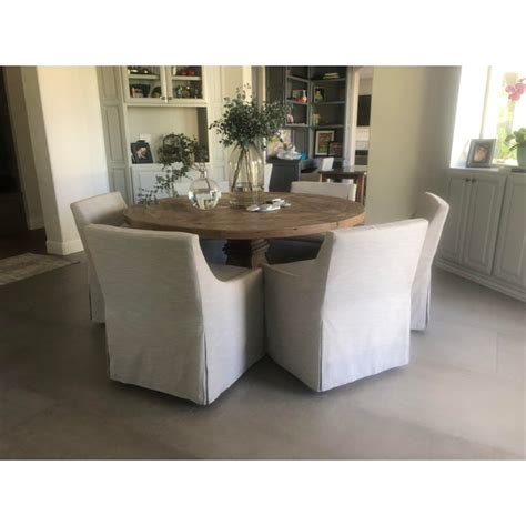Salvaged Wood Dining Table Restoration Hardware Plans