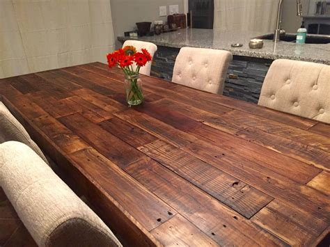 Salvaged-Wood-Farmhouse-Dining-Table