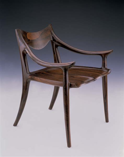 Sam Maloof Dining Chair High Back Plans