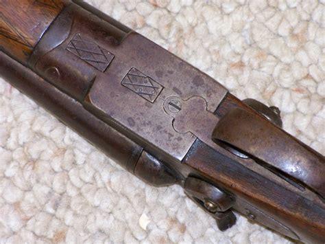 Sam Holt Damascus Double Barrel Shotgun And Short Double Bbl Shotgun