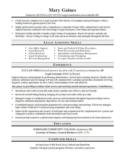 Resume Format For Hotel Job | Sample Resume For General ...