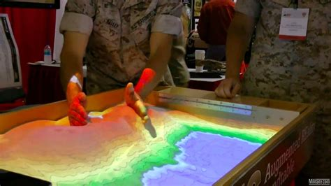 Sand Table Military Planning