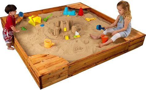 Sandbox Plans With Corner Seats