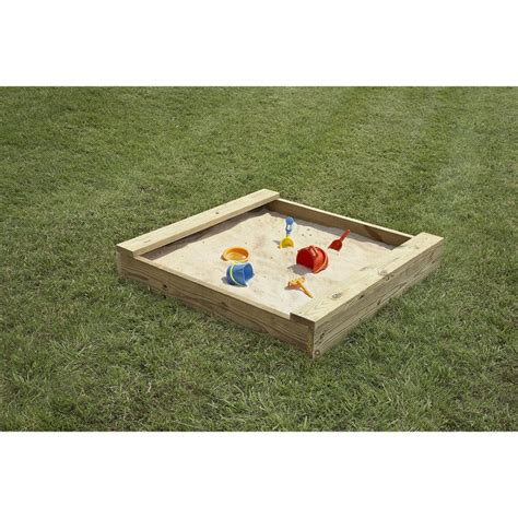 Sandbox-Plans-Lowes