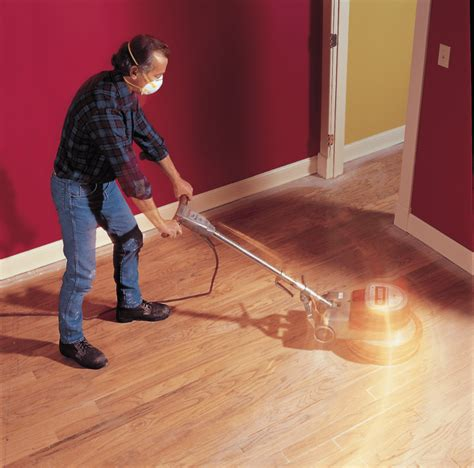 Sanding And Staining Wood Floors Diy