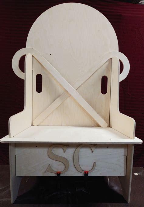 Santa-Puzzle-Chair-Plans
