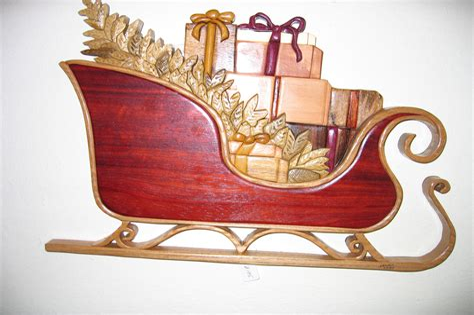 Santa-Sleigh-Woodworking-Plans