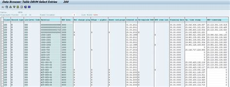 Sap-Planning-File-Entry-Table