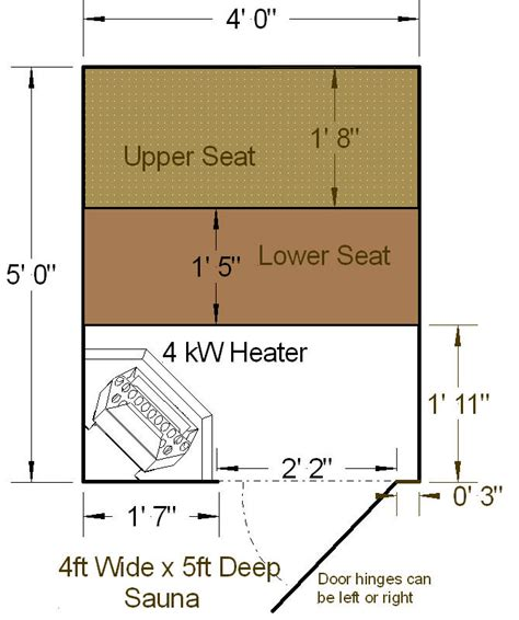 Sauna-Kit-Floor-Plans