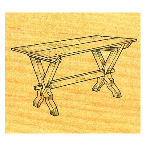 Sawbuck-Table-Plans-Free