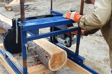 Sawhorse Plans For Cutting Logs With Bandsaw Mill