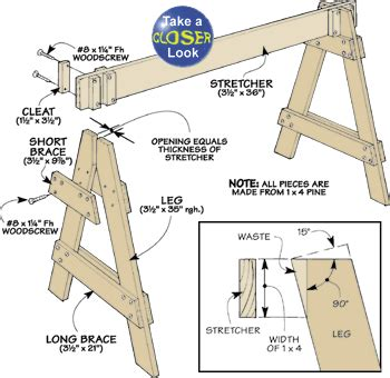 Sawhorse-Barricade-Plans