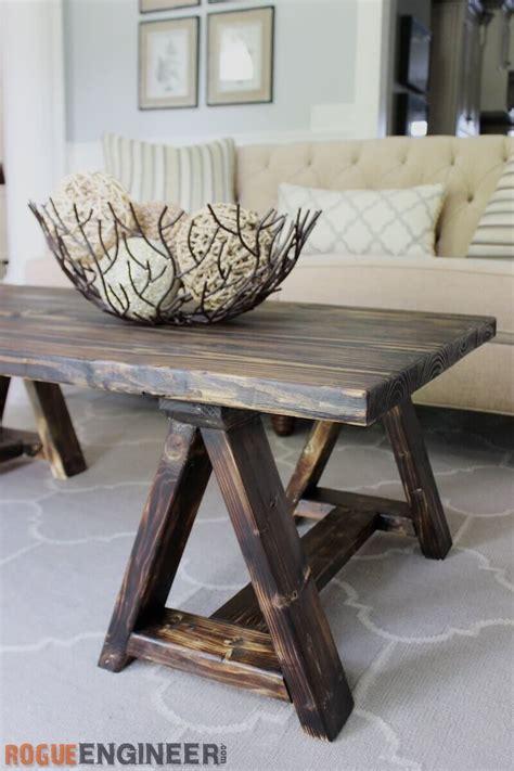 Sawhorse-Coffee-Table-Diy