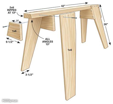Sawhorse-Woodworking-Plans