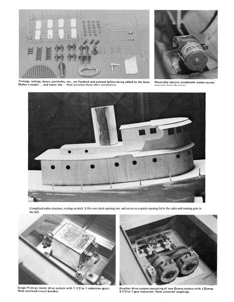 Scale Model Army Boat Plans